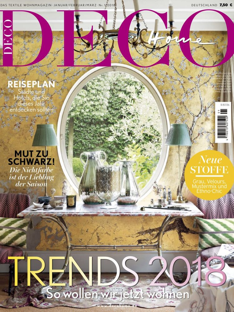 Deco Home - Trends 2018_ Jan Feb Mar cover