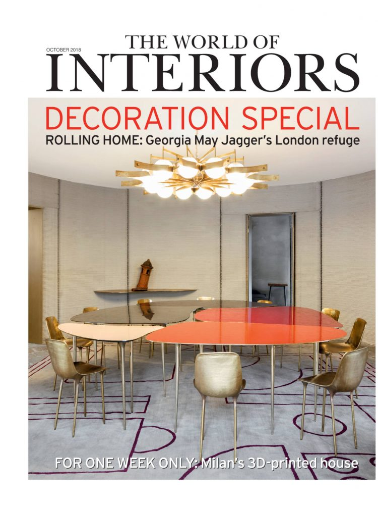 World of Interiors Cover October 2018